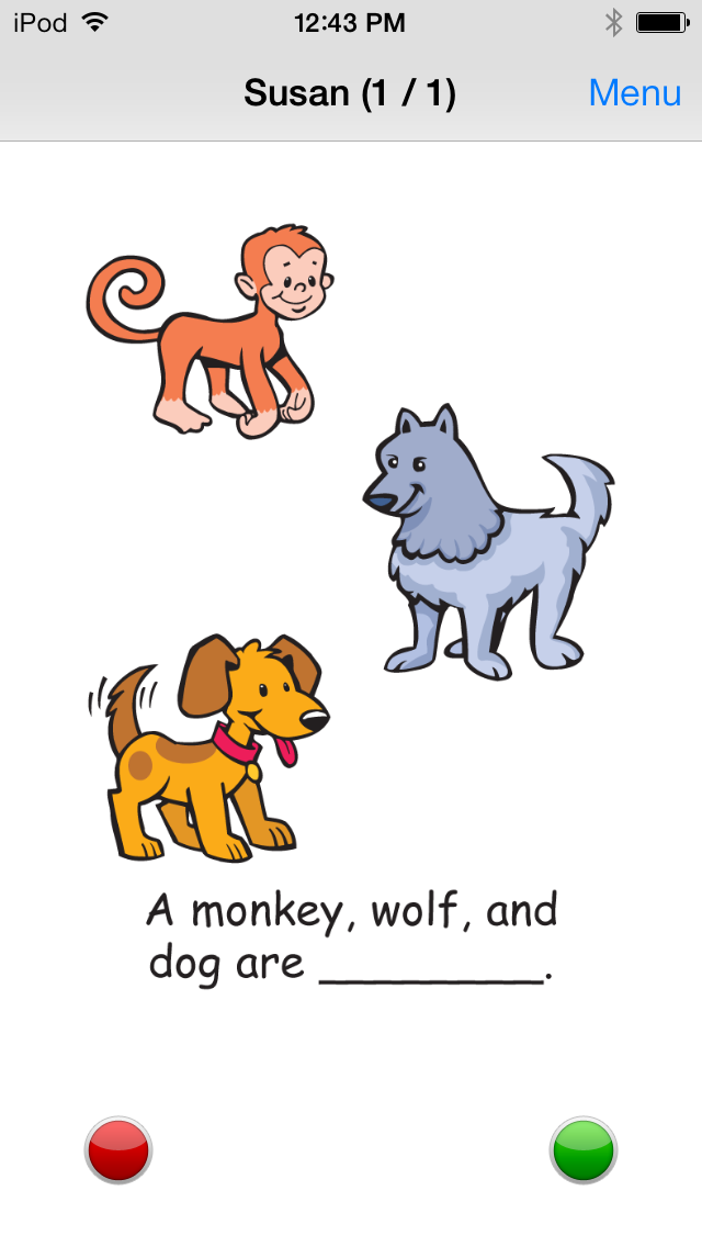 Name That Animal Category Fun Deck screenshot four
