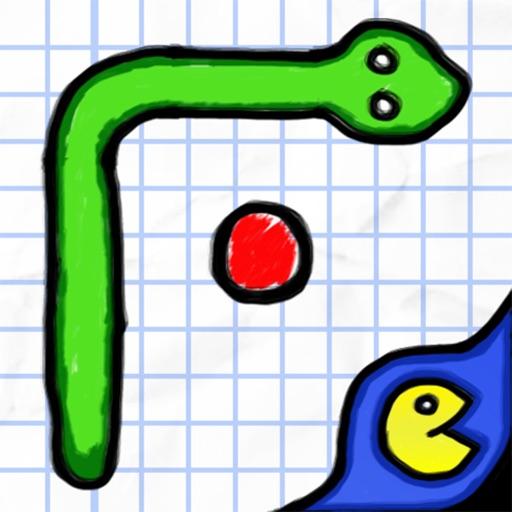 Glow Doodle Snake HD