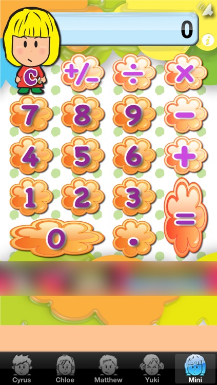 Mini Friends Calculator Free screenshot-4