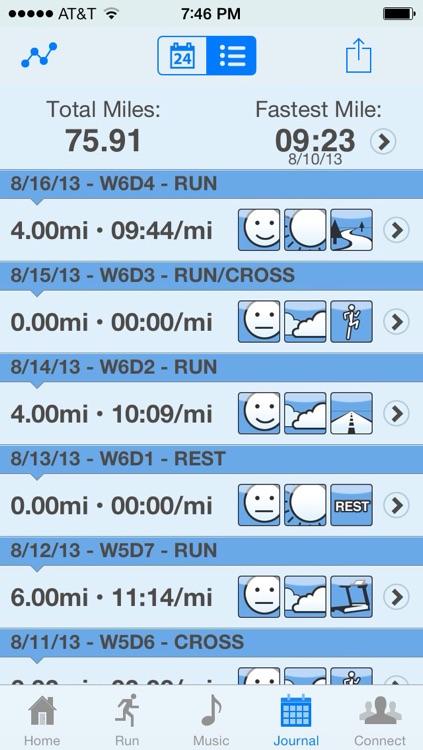 Hal Higdon 1/2 Marathon Training Program - Novice 1 screenshot-3