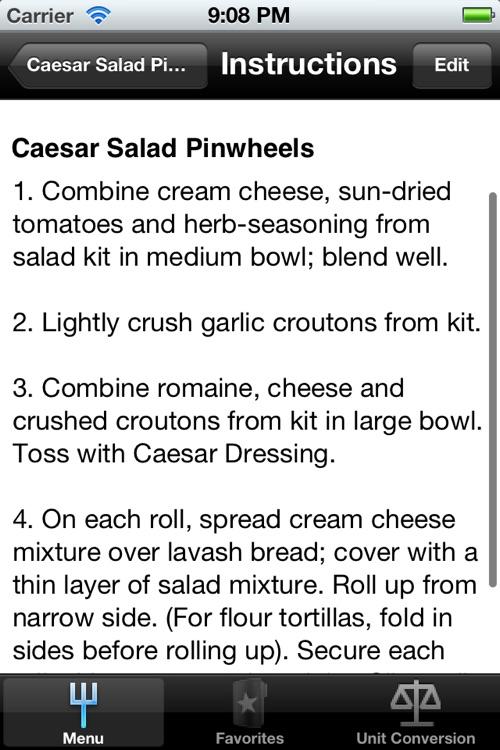 A Recipes screenshot-3