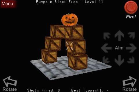 Pumpkin Blast Free screenshot-1