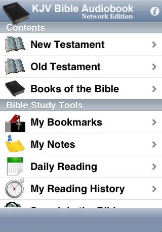 KJV Bible Audiobook Network Edition screenshot-3