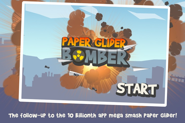 Paper Glider Bomber screenshot-0