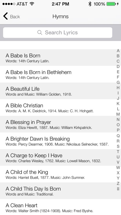 Christian Praise Songbook and Hymnal screenshot-3