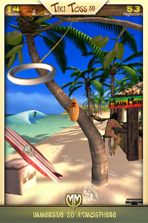 TiKi Toss 3D screenshot-0