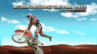 Action Motorcycle Hill Race Xtreme - Dirt Bike Trail Top Free Game screenshot one