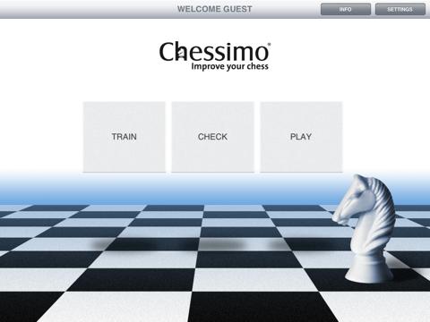 Chessimo HD на iPad