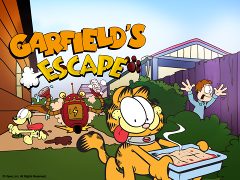 Garfield's Escape на iPad