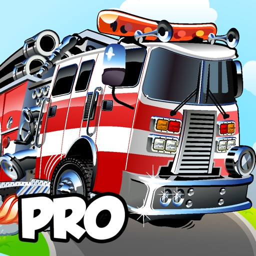 Awesome Fire-fighter Truck-s Racing Game By Fun Free Fire-man & Firetrucks Games For Boy-s Teen-s & Girl-s Kid-s Pro Version