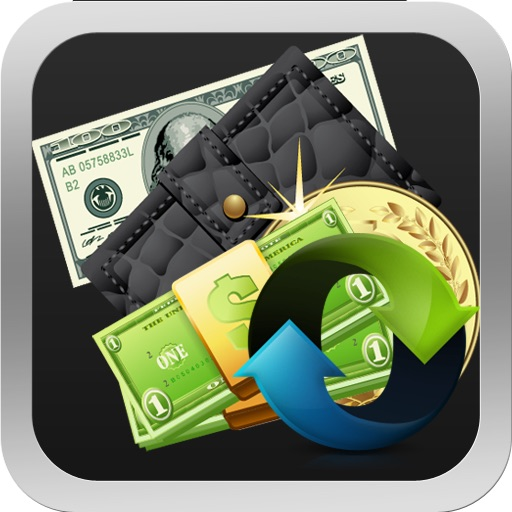 Currency Converter for iPad icon