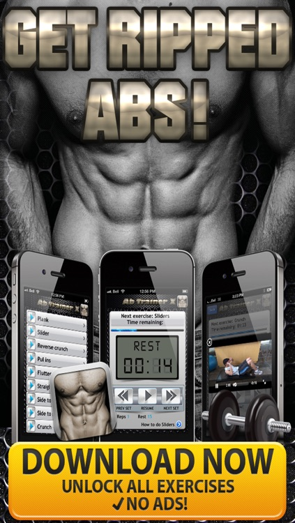 Ab Trainer X PRO HD - Six Pack Abs Exercises & Workouts screenshot-4