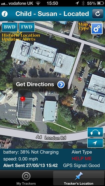 Track Your GPS GSM GPRS Tracker screenshot-4