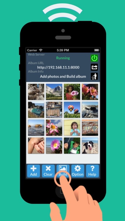 HTML5 Album - Responsive HTML5 Photo Album over Wi-Fi