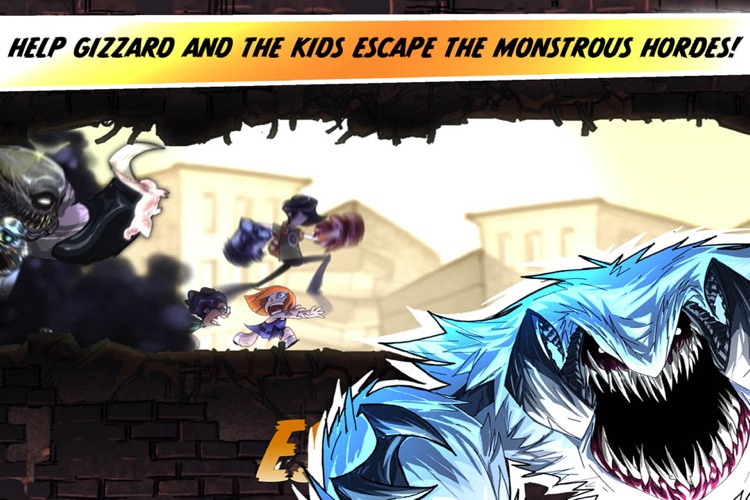 Escape from Age of Monsters screenshot-0