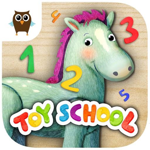 Toy School - Numbers (Free Kids Educational Game)