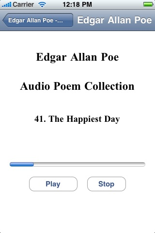 Edgar Allan Poe - Audio Poem Collection screenshot-4