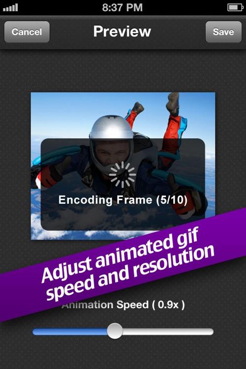 Animated GIF Album free screenshot-3