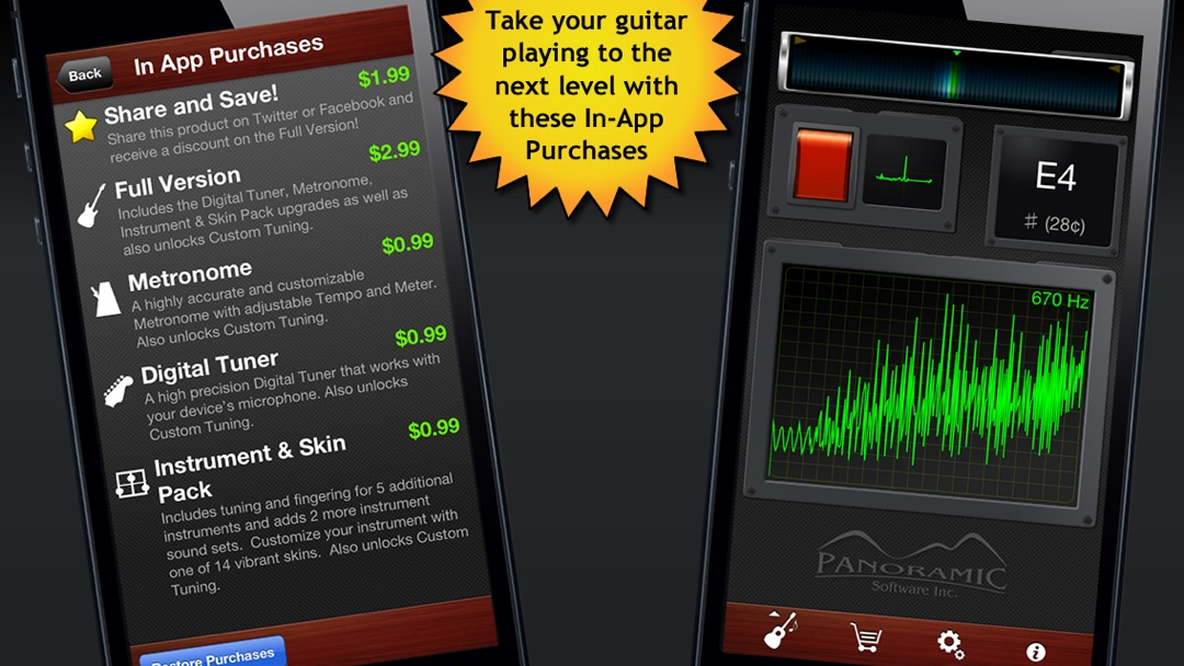 Guitar Suite Free - Metronome, Tuner, and Chords Library for
