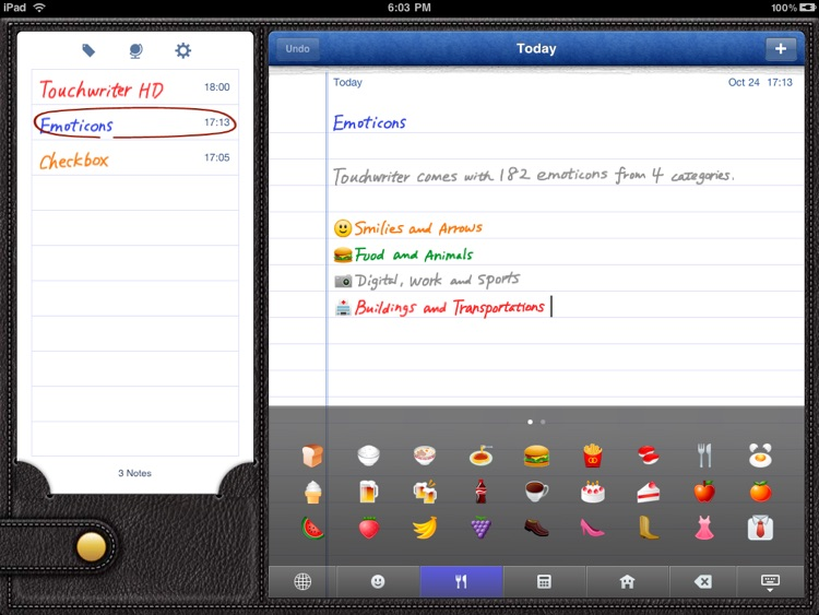 Touchwriter HD screenshot-4