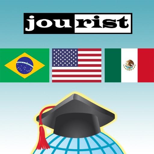 مفردات بناء jourist: امريكا