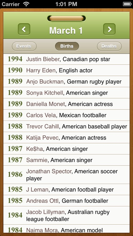 What happened on this day? Historical events and famous birthdays calendar screenshot-3