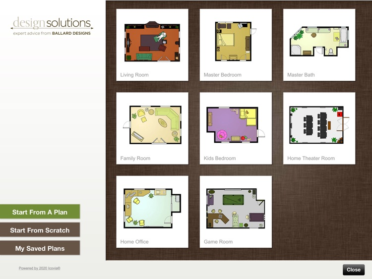 Ballard Designs Room Planner