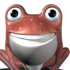 Talking Frog 3D: Funny Baby Cartoon Green Virtual Friend icon