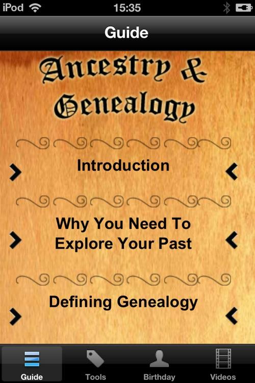 Ancestry & Genealogy