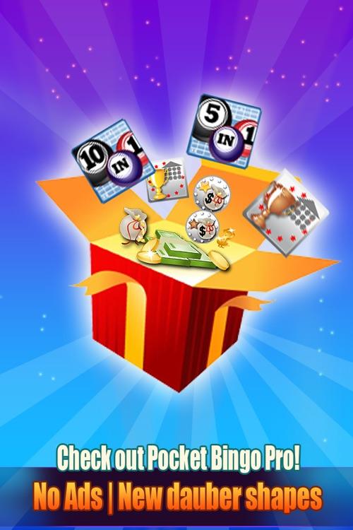 Pocket Bingo Free screenshot-4