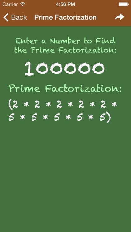Pocket Algebra screenshot-4
