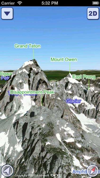 US National Parks 3D Maps screenshot-3