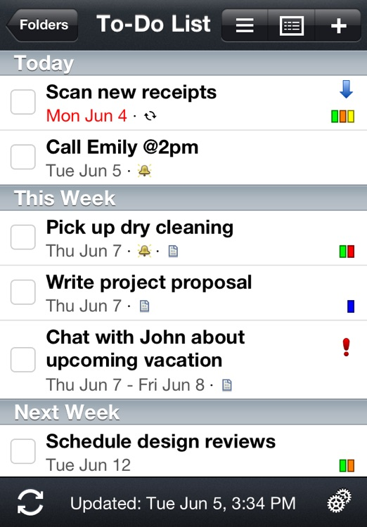 Todo® Exchange Tasks screenshot-0