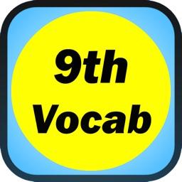 Ninth Grade English Flash Card Vocabulary
