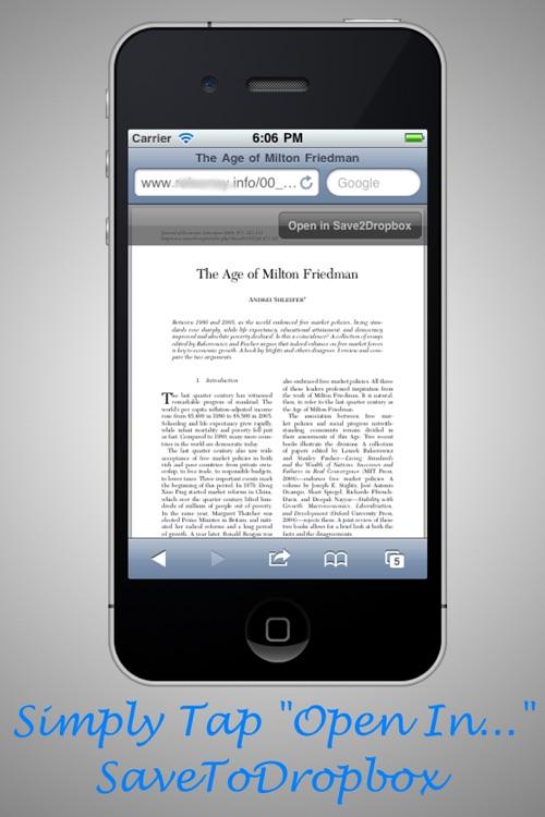 Save To Dropbox screenshot-3