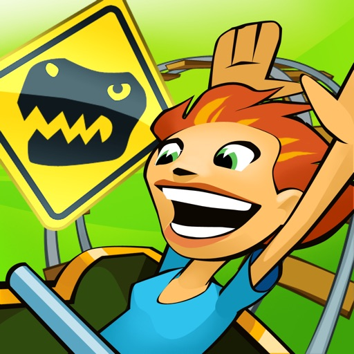 Jurassic 3D Rollercoaster Rush icon