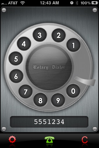Rotary Dialer screenshot-3