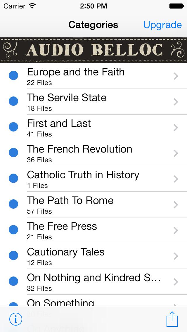 Hilaire Belloc Audio Library