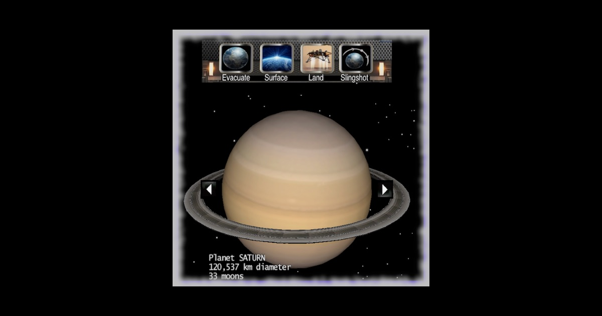 Solar system planets 3d mac app store for Cuisine 3d mac os x
