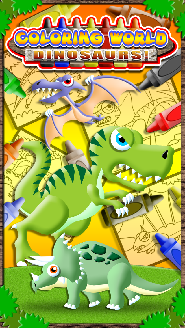 Coloring World: It's Dinosaurs (Lite)! - My Free Dino