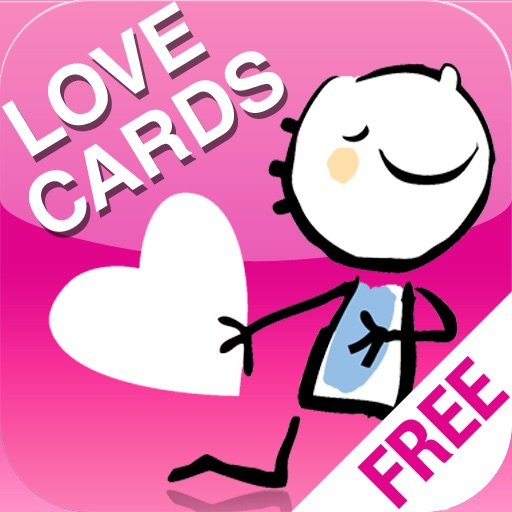 Personal Love Cards FREE - Valentine's day edition iOS App