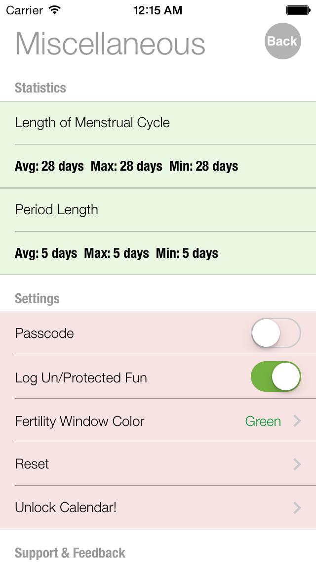 Ovulation and Pregnancy Calendar (Fertility Calculator, Gender Predictor, Period Tracker)Screenshot of 5