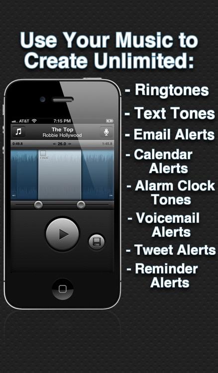 Ringtone Designer Pro - Create Unlimited Ringtones, Text Tones, Email Alerts, and More!