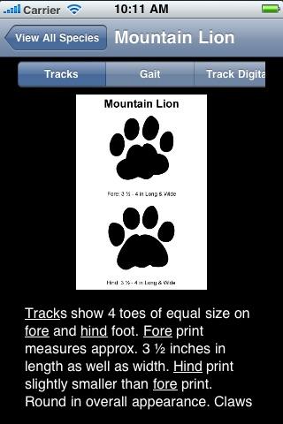 Mammal Tracks screenshot-4