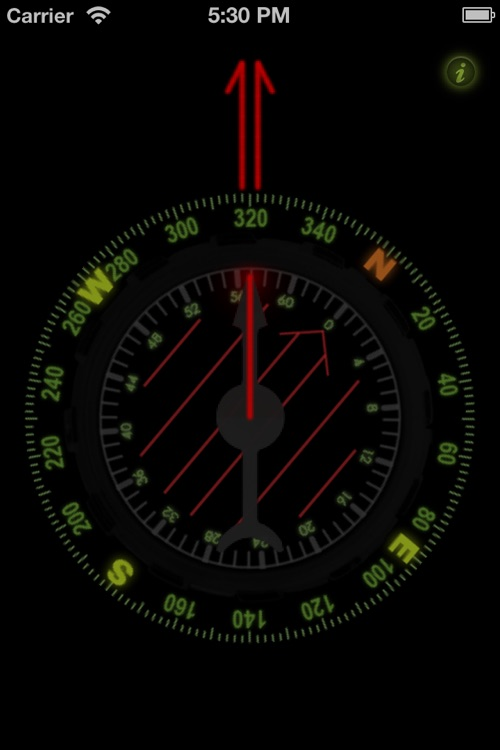 Orienteering Compass screenshot-1