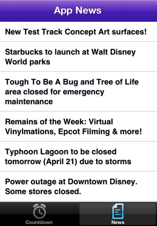 Disneyland Vacation Countdown screenshot-3