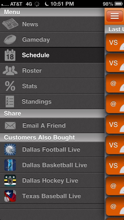 Tennessee Vols Football Live screenshot-1
