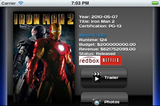 Movie Tracker For Netflix And Redbox review screenshots