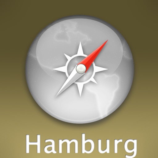 Hamburg Travel Map (Germany)
