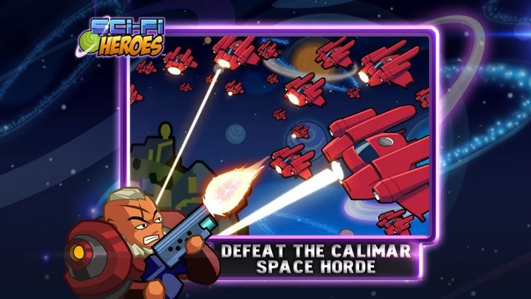 Sci-Fi Heroes screenshot-3
